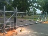 Commercial security fence