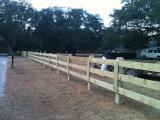 3 board farm fence