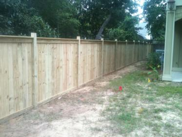 6FT WOOD PRIVACY FENCE