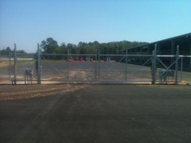 Aluminum Frame security gates